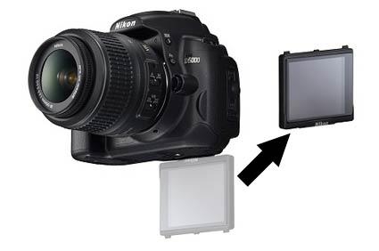 Nikon D5500 dengan LCD bisa dilepas