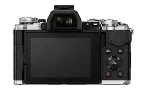 Kamera Olympus E-M5II (Belakang)