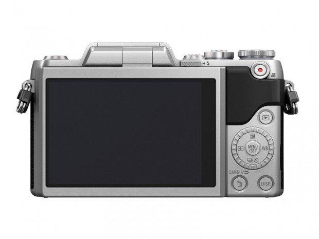 Panasonic Lumix GF7 (Belakang), Image Credit : Panasonic