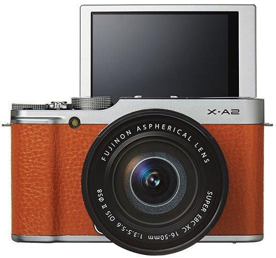 Fujifilm X-A1 (Depan), Image Credit : Fujifilm