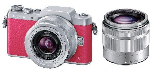 Lumix GF7 warna pink, Image Credit : Panasonic