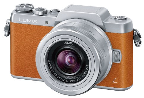 Lumix GF7 warna coklat muda, Image Credit : Panasonic