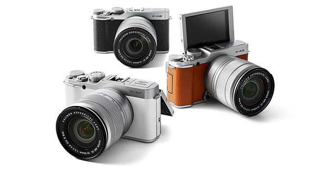 Fujifilm X-A1 tersedia dalam 3 warna, Image Credit : Fujifilm