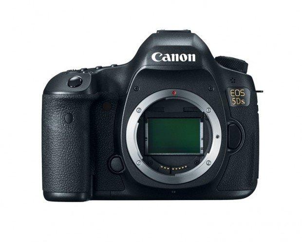 Kamera DSLR Canon 5Ds (Depan), Image Credit : Canon
