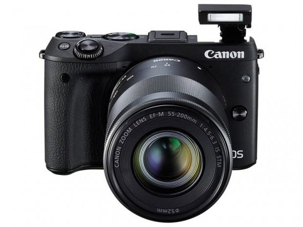 Canon EOS M3 (Flash), Image Credit : Canon