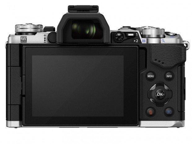 Kamera Olympus O-MD E-M5 II (Belakang), Image Credit : Olympus