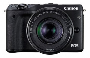 Kamera Mirrorless Canon EOS M3, Image Credit : Canon