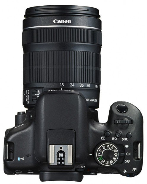 Kamera Canon 750D (Atas), Image Credit : Canon