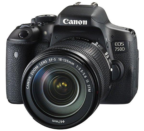 Kamera Canon 750D, Image Credit : Canon