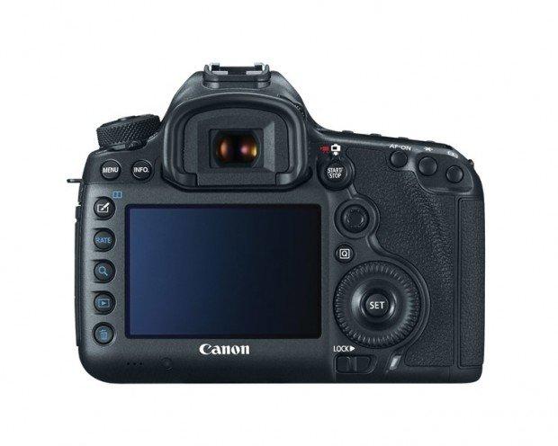 Kamera DSLR Canon 5Ds (Belakang), Image Credit : Canon