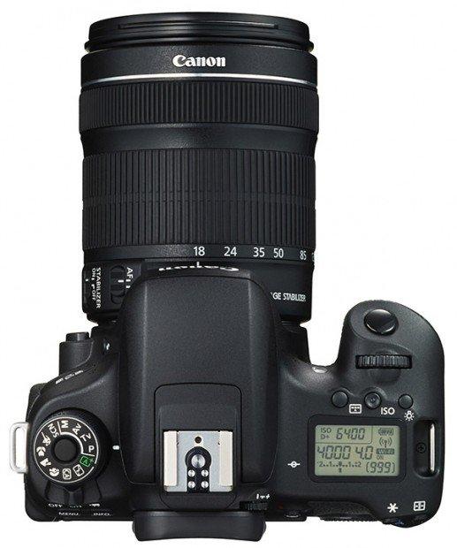 Kamera Canon 760D (Atas), Image Credit : Canon