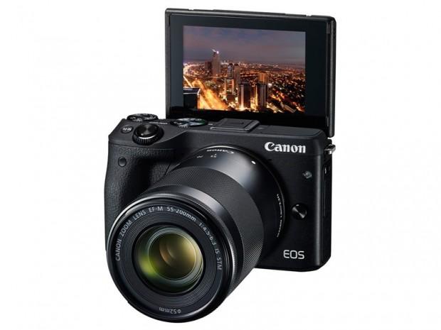 Canon EOS M3 (Mode Selfie), Image Credit : Canon