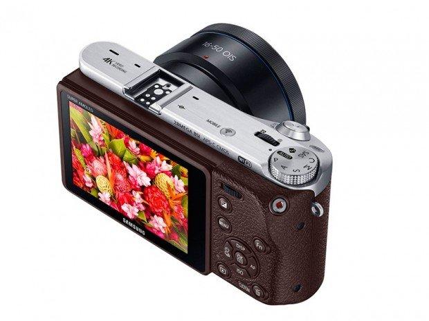 Samsung NX500 (Pojok Atas), Image Credit : Samsung