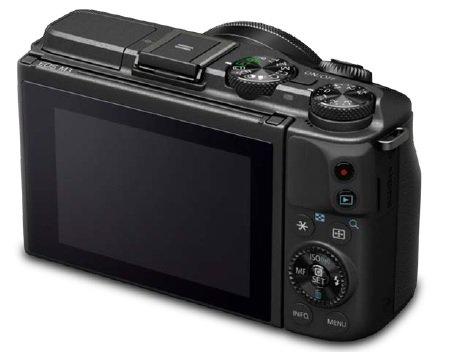 Canon EOS-M3 (Belakang)