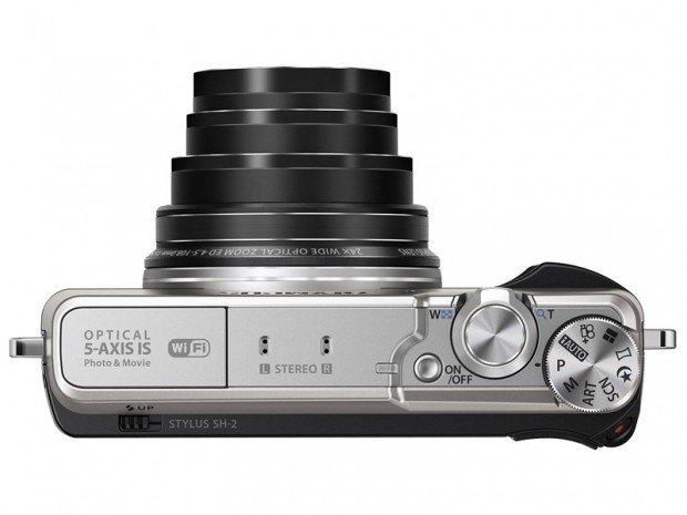 Kamera Kompak Olympus Stylus SH-2 (Atas), Image Credit : Olympus