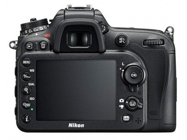Kamera DSLR Nikon D7200 (Belakang), Image Credit : Nikon