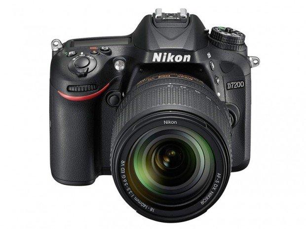 Kamera DSLR Nikon D7200 (Depan), Image Credit : Nikon