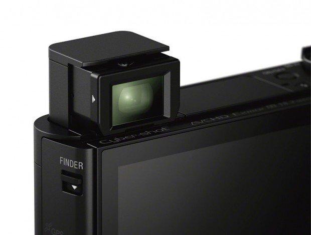 Sony HX90V (Popup EVF), Image Credit : Sony