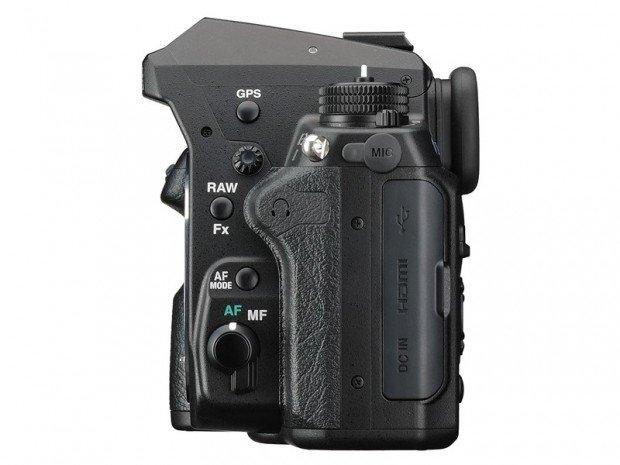 Kamera DSLR Pentax K-3 II (Samping), Image Copyright Pentax Ricoh