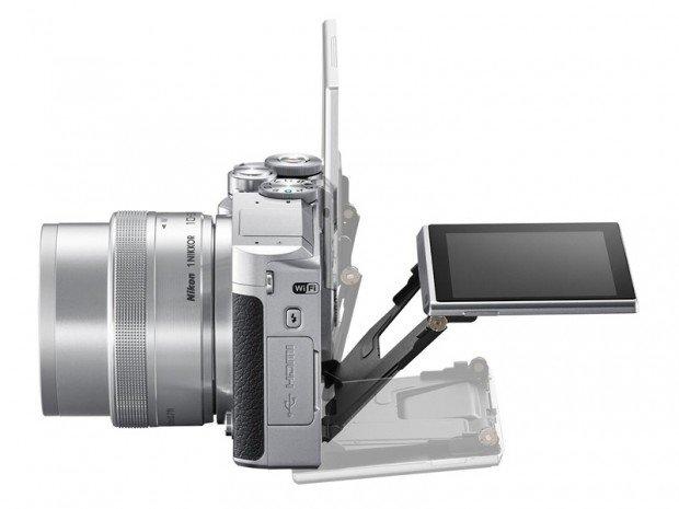 Mirrorless Nikon 1 J5 (Samping), Image Credit : Nikon