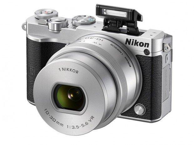 Mirrorless Nikon 1 J5 (Flash), Image Credit : Nikon