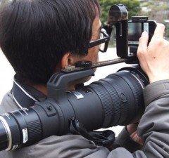 Olympus Air, Iphone dan Lensa 300mm
