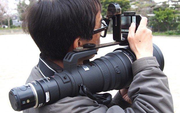 Olympus Air, Lensa Zoom 300mm dan Iphone