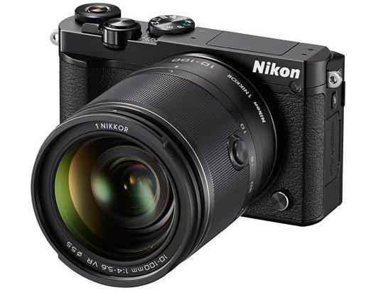 Mirrorless Nikon 1 J5 (Hitam), Image Credit : Nikon