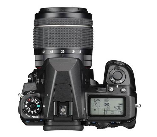 Kamera DSLR Pentax K-3 II (Atas)