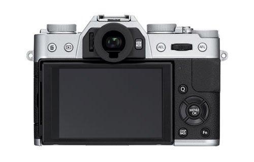 Fujifilm X-T10 Black Silver (Belakang)