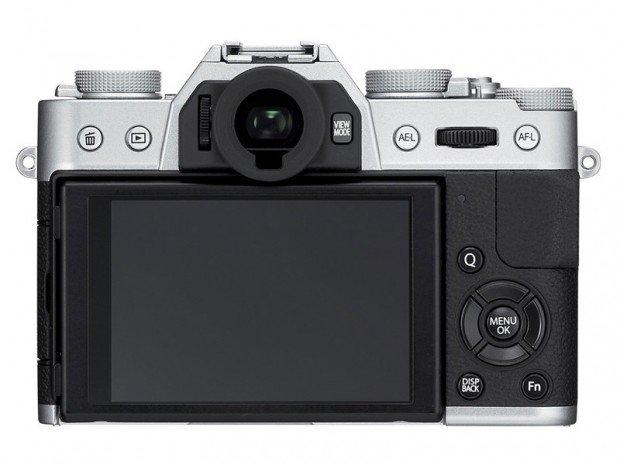 Kamera MIrrorless Fujifilm X-T10 (Belakang), Image Credit Fujifilm