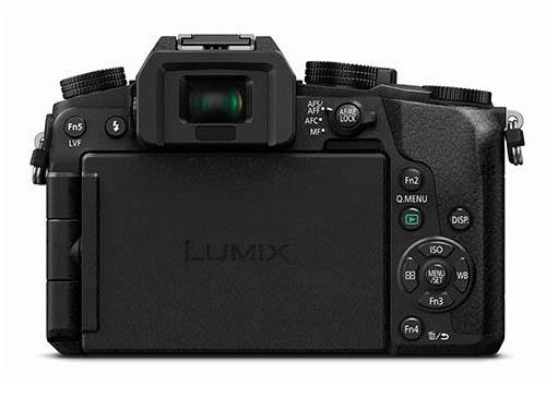 Kamera Mirrorless Panasonic Lumix G7 (Belakang)