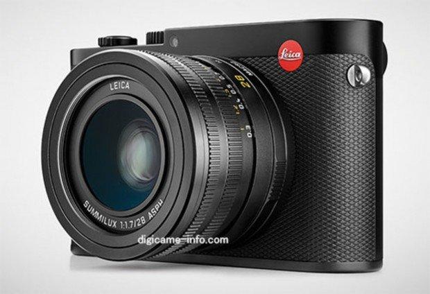 Kamera lensa tetap bersensor monokrom, Leica Q