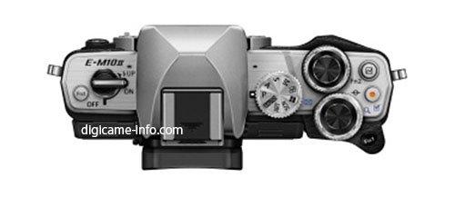 Kamera Olympus E-M10II (Atas)