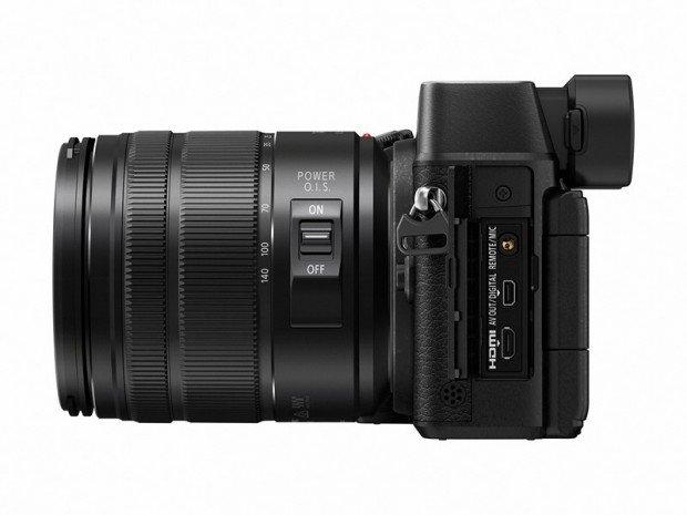 Kamera Panasonic Lumix GX8 (Samping), Image Credit : Panasonic