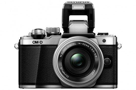 Kamera Olympus E-M10 Mark II (Depan Flash), Image Credit : Olympus