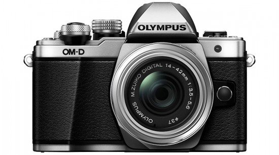 Kamera Olympus E-M10 Mark II (Depan), Image Credit : Olympus