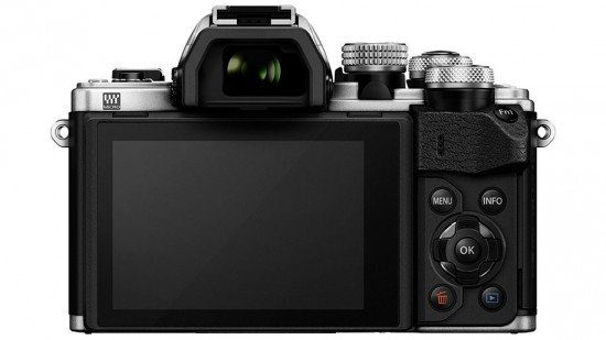 Kamera Olympus E-M10 Mark II (Belakang), Image Credit : Olympus