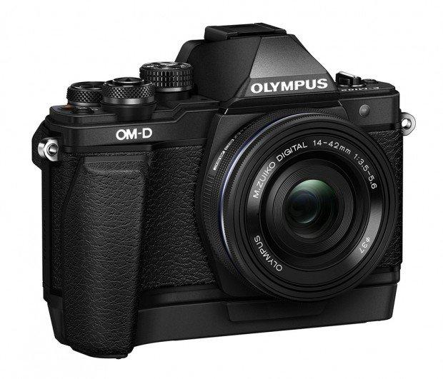 Kamera Olympus E-M10 Mark II Hitam (Baterai Grip), Image Credit : Olympus
