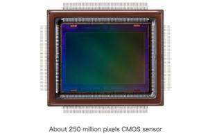 Sensor 250 Megapixel
