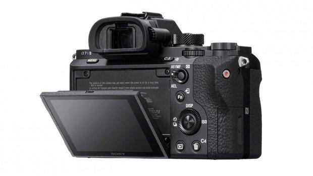 Kamera Sony A7s II (Belakang), Image Credit : Sony