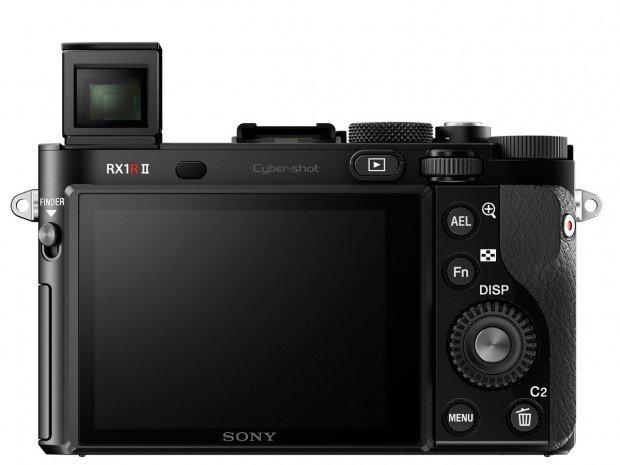 Kamera Sony RX1R II (popup EVF belakang), Image Credit : Sony