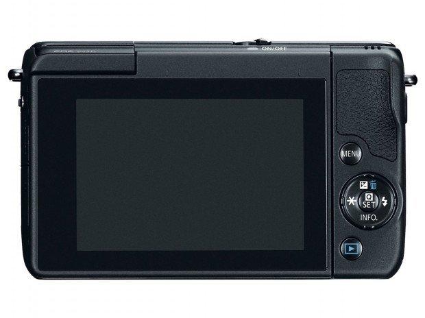 Kamera Canon EOS M10 (Belakang), Image Credit : Canon