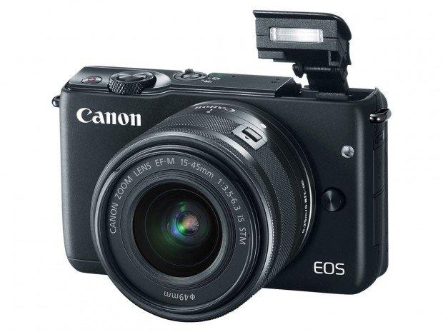 Kamera Canon EOS M10 (Pop-up Flash), Image Credit : Canon