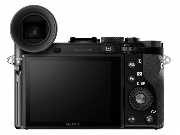 Kamera Sony RX1R II (popup EVF aksesoris), Image Credit : Sony