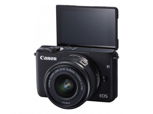 Kamera Canon EOS M10 (Selfie Mode), Image Credit : Canon
