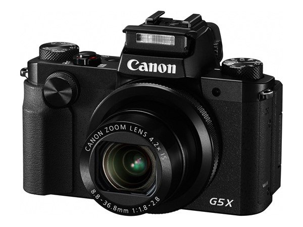 Canon Powershot G5  X (Flash Pop Up), Image Credit : Canon