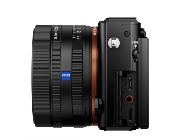 Kamera Sony RX1R II (Samping Kiri), Image Credit : Sony