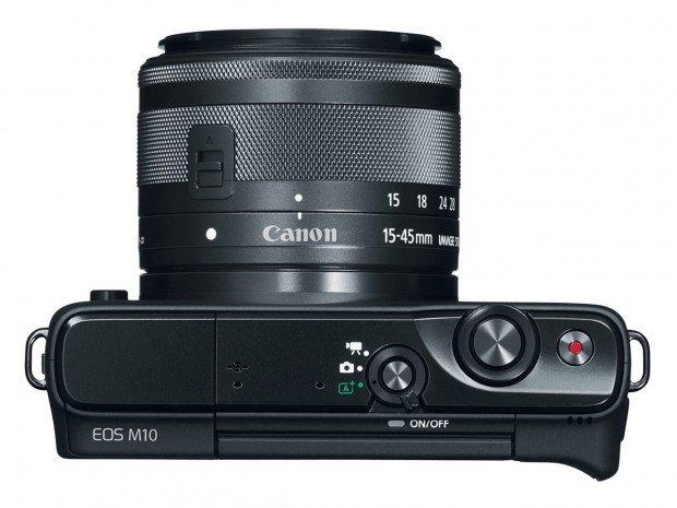 Kamera Canon EOS M10 (Atas), Image Credit : Canon