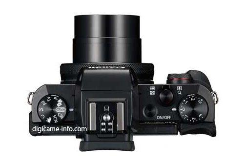 Kamera Canon Powershot G5 X (Atas)